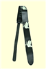 PEACE Leather Guitar Strap