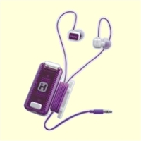 Fitness Earbuds - White Purple