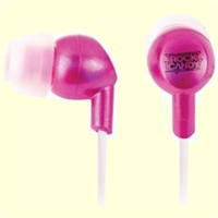 IESSENTIALS Rock Candy Earbuds (Pink)