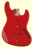 Fiesta Red JBF-FR Finished Replacement Body for Jazz Bass®