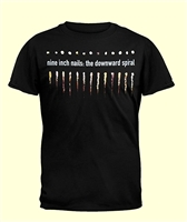 Nine Inch Nails Tee Shirt, Downward Spiral