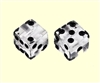 Clear Dice Knobs