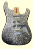 Silver Sparkle Finished SSH Replacement Body for Stratocaster®