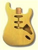Hardtail Blonde Finished Replacement Body for Stratocaster®