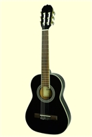 Glen Burton Black Conservatory 1/2 Classical Guitar