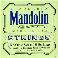 D'Addario J67 Mandolin Strings Set