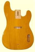 Butterscotch Finished Replacement Body for Telecaster® Bass