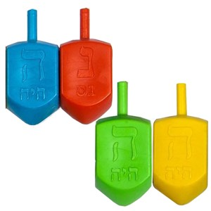0118- Dreidel Erasers - medium
