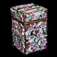 1187- Charity Box - Jeweled