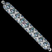 1206- Mezuzah Case, jeweled, large