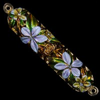 1226- Mezuzah Case, jeweled, small