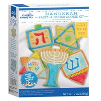 0134- Hanukkah Paint A Cookie Kit (Parve)