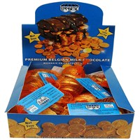 0135-NF- Box of Chocolate Gelt (Milk) -NUT FREE