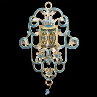 1401- Wall hanging - Jeweled
