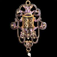 1401-B- Wall hanging - Jeweled