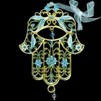 1404- Wall hanging - Jeweled