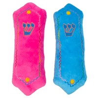 "0141- Plush Mezuzah, 10"" Assorted"
