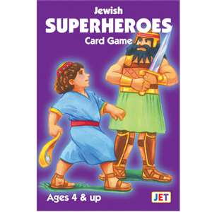 0214- Jewish Super Heroes Card game