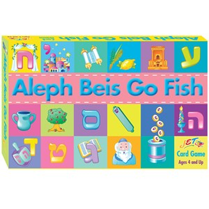 0229- Aleph Beis Go Fish Game