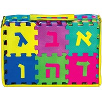 0284-  Learn the Aleph Bet Foam Puzzles