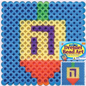 0312- Bead Art - Dreidel
