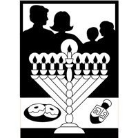 0430-CC- Bulk Chanukah Celebration Velvet Art