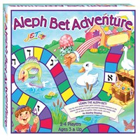 0608- Aleph Bet Adventure Boardgame