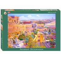 0676- 1000 pc puzzle, Shabbat Afternoon