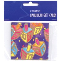 0819- Chanukah Gift Tags - adhesive