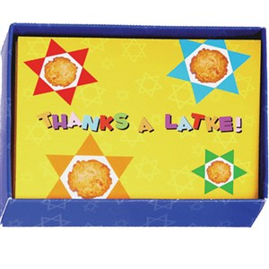 0832- Hannukah Thank You Cards - Yellow