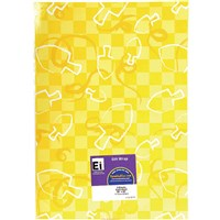 0836- Hannukah Gift Wrap Sheets - Yellow