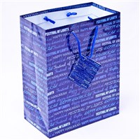 0866-D- Hanukkah Gift Bag -Festival of Lights