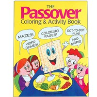 0919- Passover Coloring & Activity Book