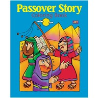 0934- Passover Story Coloring Book