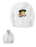 TMS Lady Pirates Hooded Sweatshirt with Full Zipper