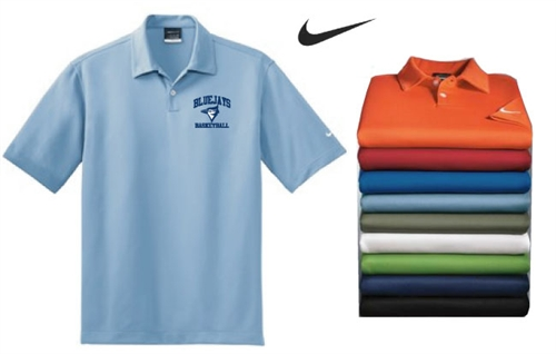 Nike dri fit solid coaches polo for Soccer coach polo shirt