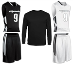 Home & Away Basketball Jersey Package