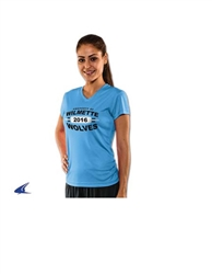 Star Player Ladies V-Neck Volleyball T-Shirt