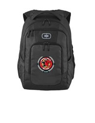 Ogio Blck Backpack with DBA logo Embroidered