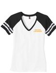 Topsail Lacrosse District Made Ladies Game V-Neck Tee