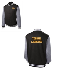 Topsail Lacrosse Fleece Letterman jacket