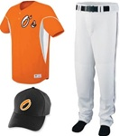 Omaha 2-Button Baseball Uniform