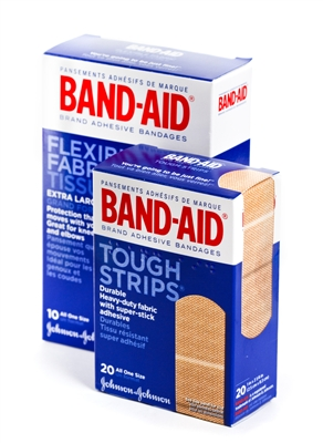 Double Pack Bandaid Brand Adhesive Bandages