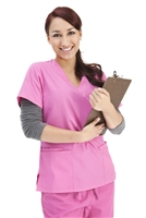 Women's Pink Scrubs