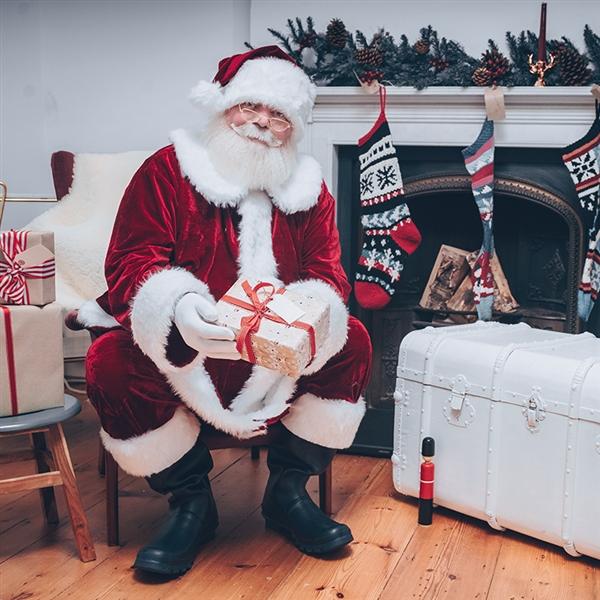 father christmas beard and moustache santa claus beard