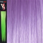 Colour Flash 16 inches Synthetic Clip in Hair Extensions Colour Lilac