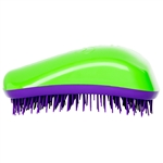 Dessata Detangling Hairbrush Green & Purple