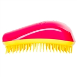 Dessata Detangling Hairbrush Fuchsia and Yellow