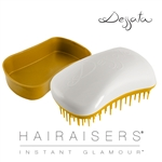 Dessata Mini Detangling Hairbrush White & Gold