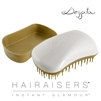 Dessata Mini Detangling Hairbrush White & Old Gold